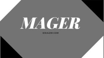 Arti kata mager dalam bahasa gaul