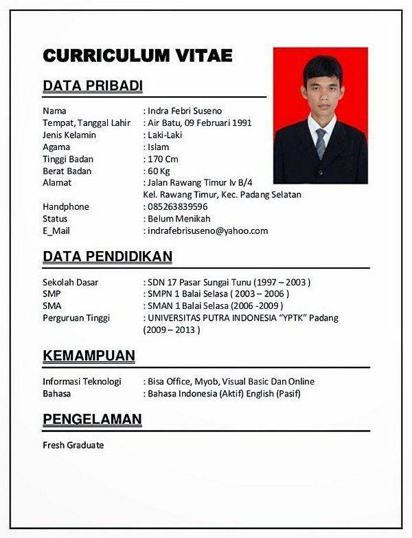 CV sederhana