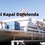Jadwal Kapal KM Dorolonda Bulan April 2020