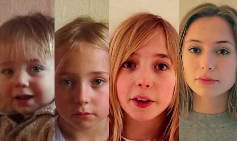 Video anak selama 20 tahun di rekam