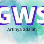 GWS Artinya Apa Sih? Ini Pengertiannya