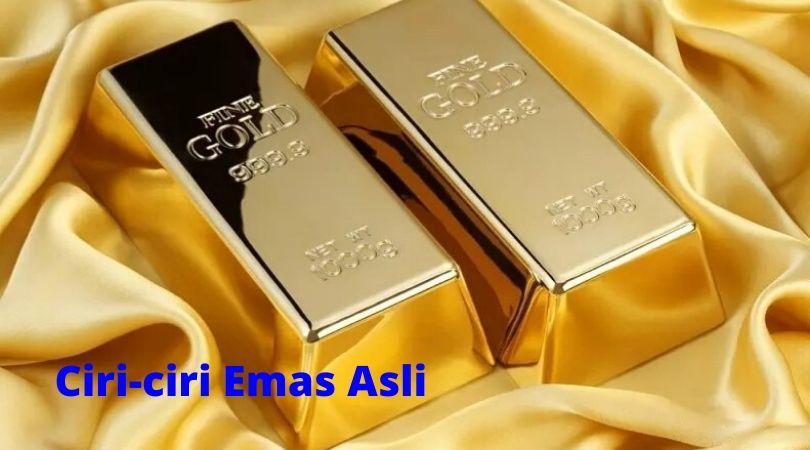 ciri-ciri emas asli