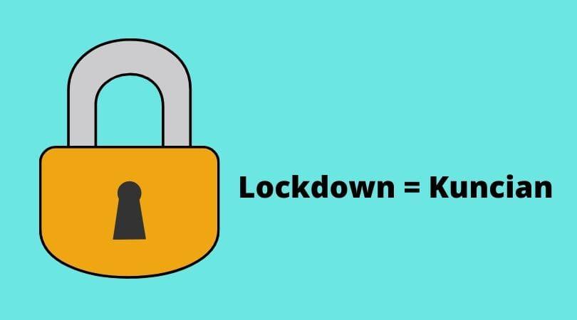 Arti lockdown menurut terjemaah