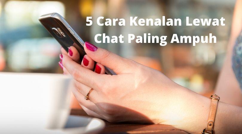 cara kenalan lewat chat