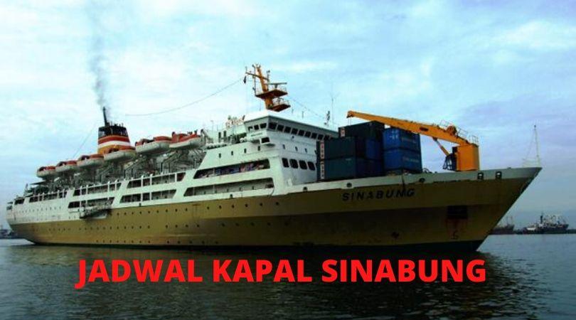 jadwal Kapal Sinabung