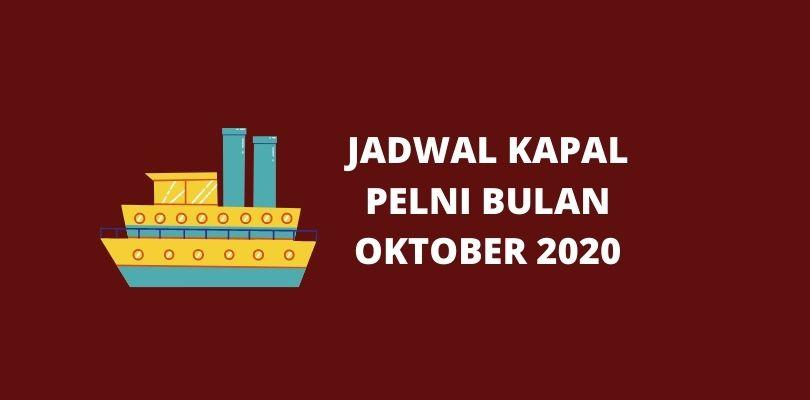 Jadwal Kapal Pelni Bulan Oktober 2020 Paling Lengkap Sikalem