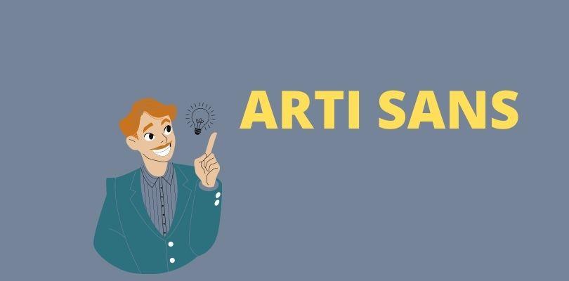 Arti Kata Sans Dalam Bahasa Gaul