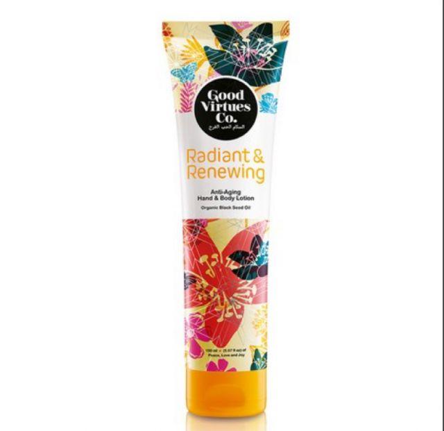 Good Virtues Co. Radiant & Renewing Lightening Hand & Body Lotion