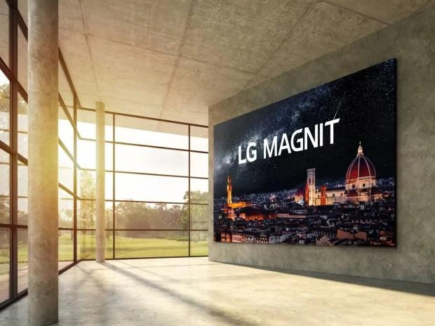 LG Magnet 163 inch 4K Micro LED